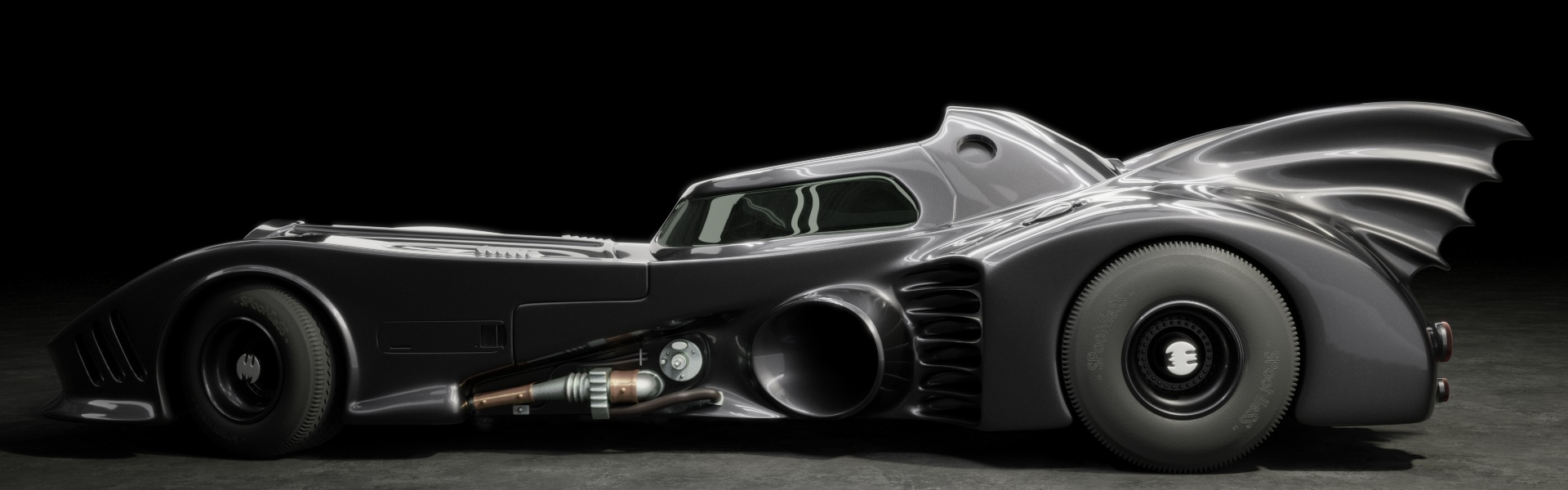 Batmobile on Car Models Fact Websites